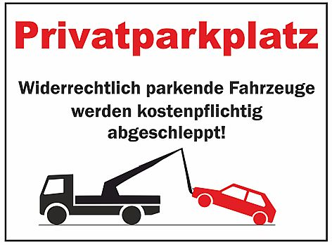 wetterfestes schild privatparkplatz ebay. Black Bedroom Furniture Sets. Home Design Ideas